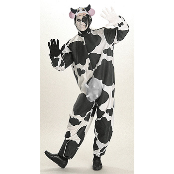 Cow Adult Funny costume idea