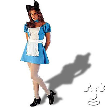 Sexy Alice in Wonderland costume idea