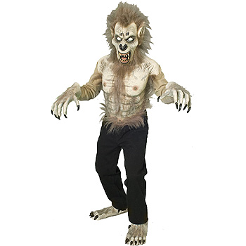 Adult Wolf Man costume idea
