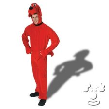 Clifford the Big Red Dog Adult Men's costume idea