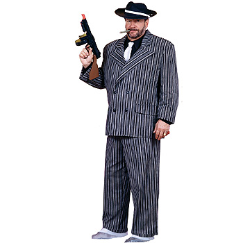 Gangster Plus Size costume idea