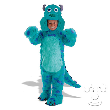 Sully from Monsters, Inc. Children's Disney costume idea