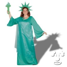 Statue of Liberty Plus Size costume idea
