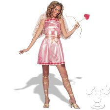 Sexy Pink Cupid costume idea