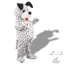 Dalmation Dog costume idea