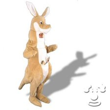 Kangaroo costume idea