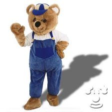 Worker Bear costume idea