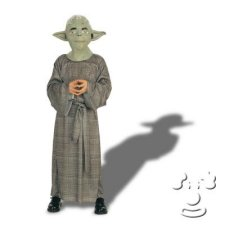 Yoda from Star Wars Kids costume idea