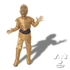 C3PO from Star Wars Kids costume idea