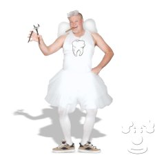 Plus Size Tooth Fairy costume idea
