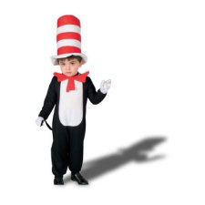 Cat in the Hat Infant Baby costume idea
