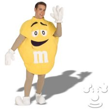 M & M Adult Men's costume idea