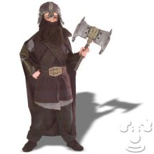 Gimli from Lord of the Rings Kids costume idea