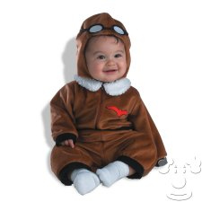 Infant Baby Pilot costume idea