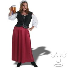 Medieval Bar Wench Plus Size costume idea