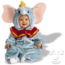 Infant Baby Dumbo costume idea