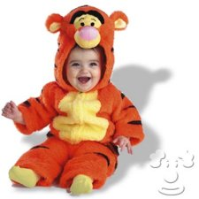 Infant Baby Tigger from Winnie the Pooh costume idea
