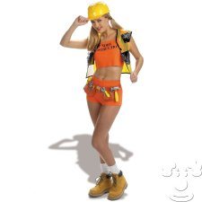 Sexy Construction Worker costume idea