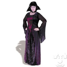 Gothic Vampire Womens Plus Size costume idea