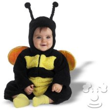 Bumble Bee Infant Baby costume idea