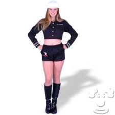 Teen Girl Navy Uniform costume idea