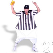 Fat Referee Adult Funny costume idea