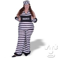 Jailbird Plus Size costume idea