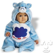Infant Baby Care Bears Grumpy Bear costume idea