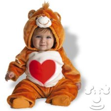 Infant Baby Care Bears Tender Heart costume idea