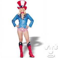 Aunt Sam Patriotic costume idea