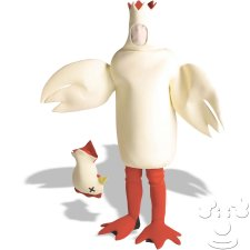 Chicken with Head Off Adult Funny costume idea