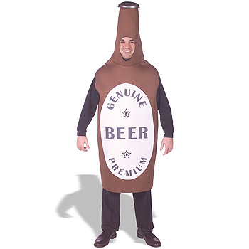 Beer Bottle Adult Funny costume idea