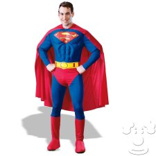 Superman Adult Men's costume idea