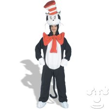 Cat in the Hat Dr. Seuss Adult Men's costume idea