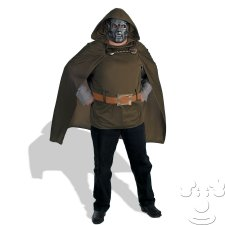 Dr. Doom Plus Size costume idea