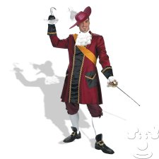 Captain Hook Disney Adult Men's costume idea