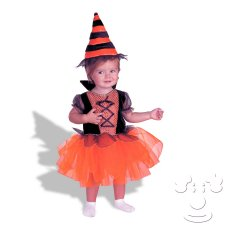 Infant Baby Witch costume idea