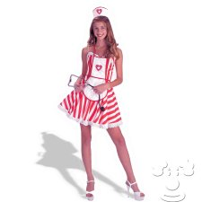 Teen Candy Striper costume idea
