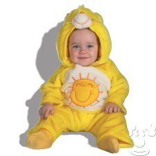 Infant Baby Care Bears Funshine Bear costume idea