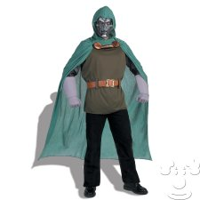 Teen Dr. Doom costume idea