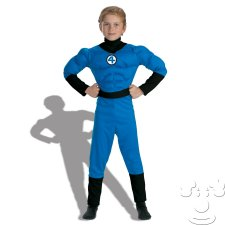 Mr. Fantastic Kids costume idea