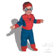 Spider Man Infant Baby costume idea