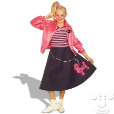 Girls 50's Teeny Bopper Teen costume idea