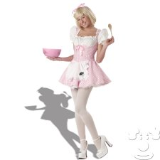 Teen Little Miss Muffet costume idea