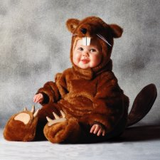 Beaver Infant Baby costume idea