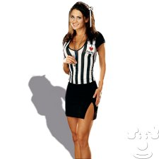 Sexy Referee Women's costume idea