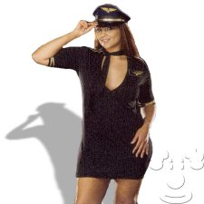 Airline Captain Plus Size costume idea