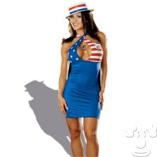 Sexy Delegate Adult Womens Political Campaign costume idea