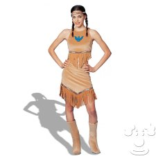 Teen Pocahontas costume idea