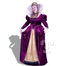 Elizabethian Queen Plus Size costume idea